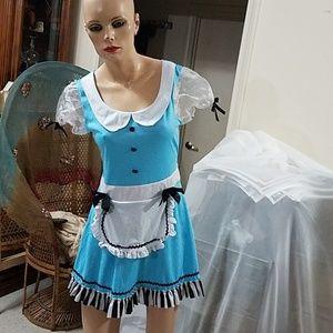 Halloween Costume Sexy Maid